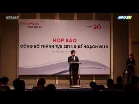 Toyota Việt Nam lãi khủng năm 2014