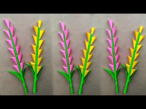 Flower Making // How To Make Flower // Flower Craft