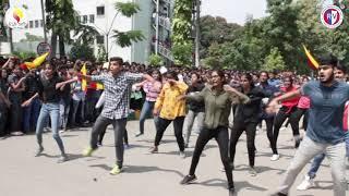 'ಅಂಬಾರಿ' Flashmob 2018 |'Ambaari' KANNADA SANGHA |RVCE |ಕನ್ನಡ ಹಬ್ಬ