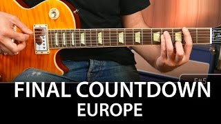 The Final Countdown en Guitarra DEMO guitar cover