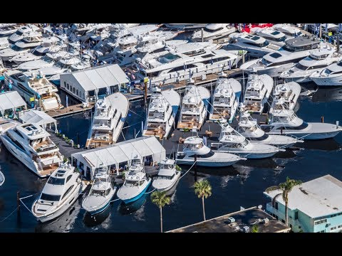 What It's Like To Go To The Fort Lauderdale Boat Show