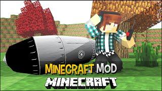 Minecraft Mod: Explosões De Bombas Nucleares !! ( Armas De Raio, Fogo, Plasma) - Rival Rebels Mod