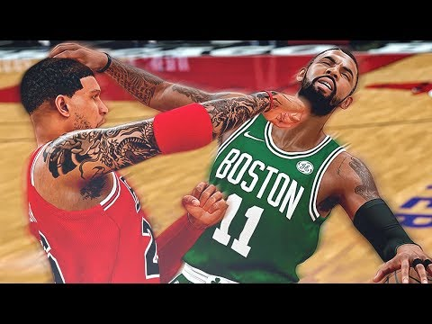 GETTING IN A FIGHT WITH KYRIE IRVING! - NBA 2K18 MyCAREER