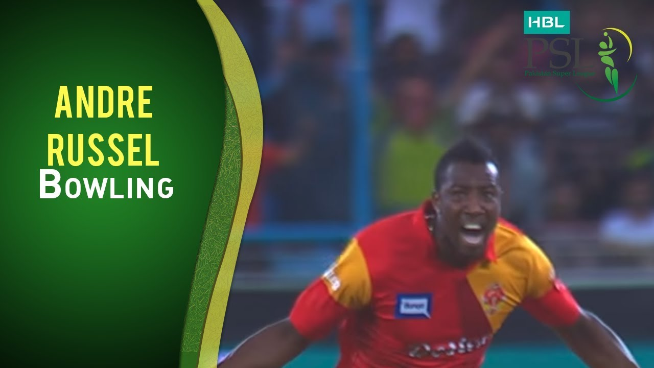 HBL PSL Final - Islamabad United vs Quetta Gladiators - Andre Russell Wickets