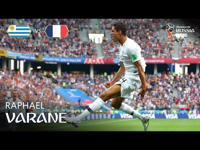 Raphael VARANE Goal – Uruguay v France – MATCH 57