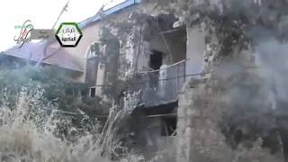 Syria #9 Zabadani Civilian Homes Lay in Ruins as Assad Tries to Destroy Liberated City 4-Nov-13