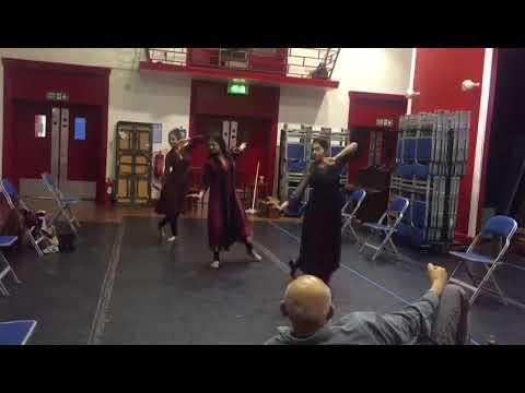 Gauhar Jaan   Dance Rehearsal