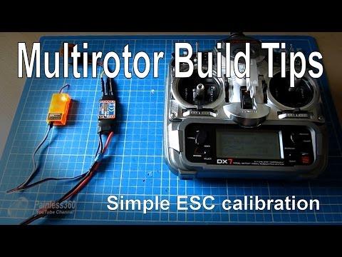 Multirotor build tips: