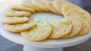 Lime Cutaway Cookies | May Cookie Of The Month