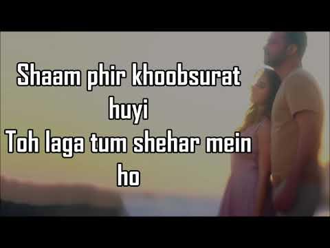 BAARISHEIN LYRICS   Atif Aslam Feat. Nushrat Bharucha  