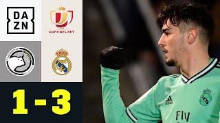 Brahim Díaz zaubert Salamanca weg: Salamanca - Real Madrid 1:3 | Copa del Rey | DAZN Highlights