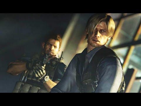 RESIDENT EVIL 6 (Chris) - #7: Olá, Leon!!