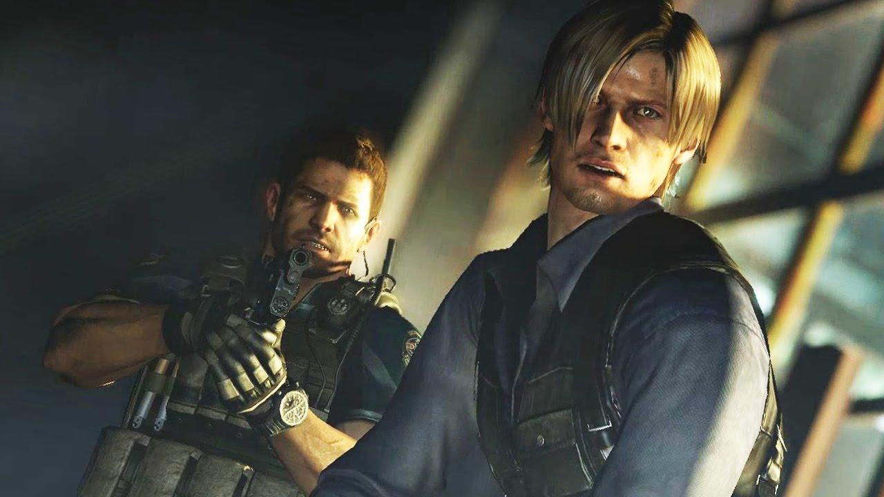Resident Evil 6 Chris 7 Ola Leon Youtube
