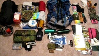 Nside My Bug Out Backpack For Long Term Survival