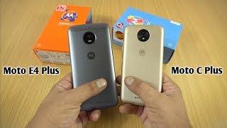 Moto E4 Plus vs Moto C Plus Speed Test & Comparison [Urdu/Hindi]