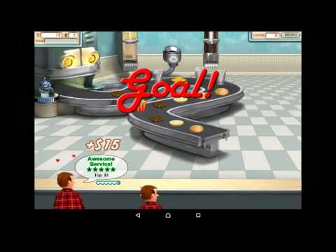 Burger Shop FREE - HD Android Gameplay - Child Games - Full HD Video (1080p)