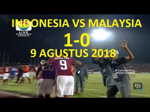 INDONESIA VS MALAYSIA #9 AGUSTUS 2018 ASIAN GAMES