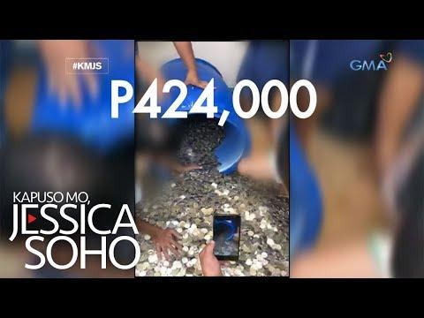 Kapuso Mo, Jessica Soho: Limpak-limpak na barya sa drum!