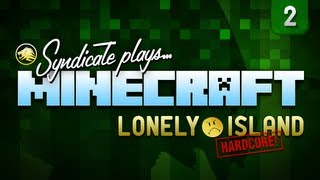 Minecraft: Luckiest Diamond Find! - Lonely Island (Hardcore) - Part 2