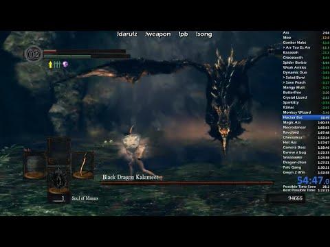 Dark Souls - All Bosses Scimitracer Speedrun 1:26:23