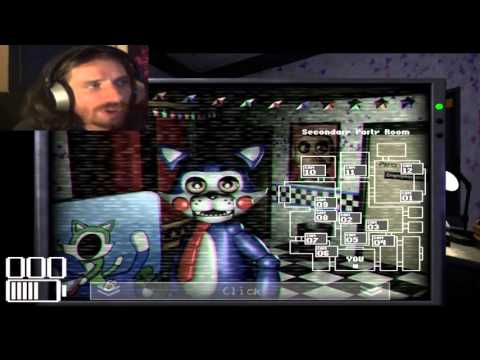 Five Nights At Candy's FR- Let's Play Fonkythrough Part 1 - La Découverte !