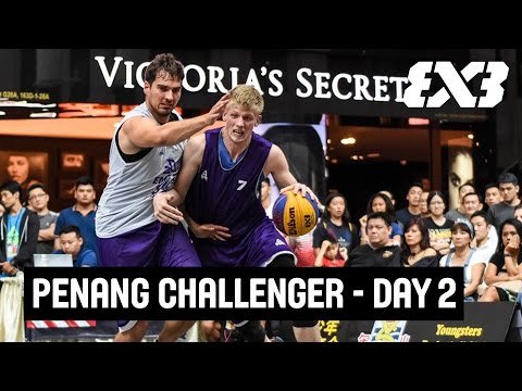 FIBA 3x3 - World Hoops Penang Challenger 2017 - Re-Live - Day 2