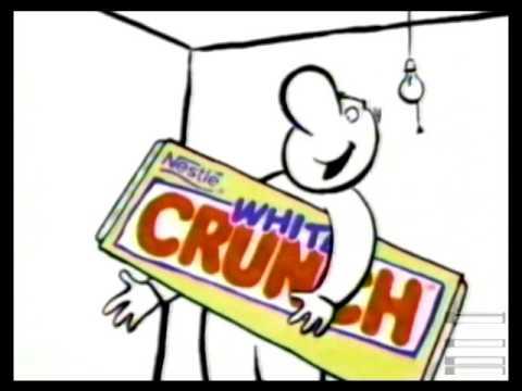 Nestle White Crunch Commercial