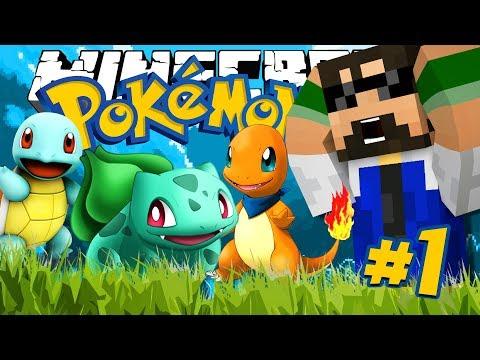 Minecraft: POKEMON!! - THE FIRST TRAINER!!!