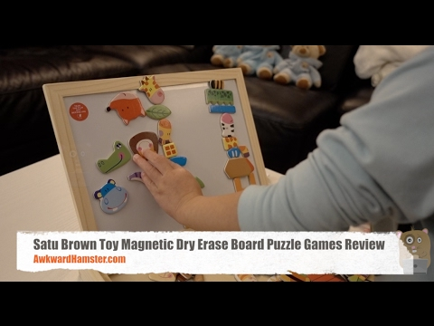 satu-brown-toy-magnetic-dry-erase-board-puzzle-games-review