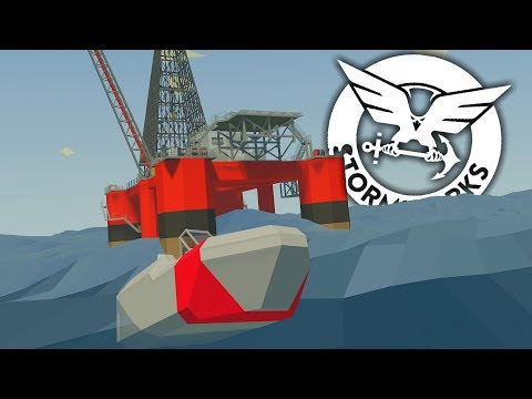 I`M GOING TO NEED A BIGGER BOAT - STORMWORKS Build And Rescue Part 1 - Saving Oil Rig Workers..NOT!