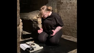 'The wrong tool for the job' Live performance at The Crypt Gallery, London, 2021.
