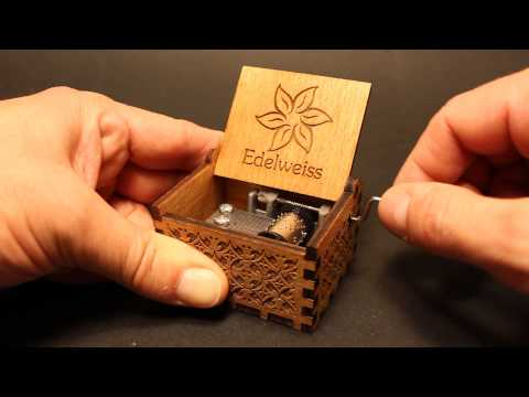 Edelweiss - Sound of Music - Music box by Invenio Crafts