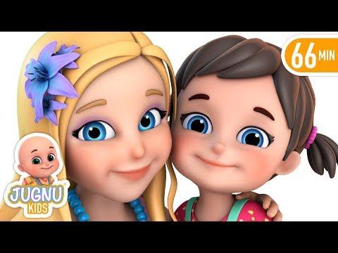 Nanhi Munni Gudiya Rani - नन्ही मुन्नी गुड़िया रानी - Hindi Rhymes For Children | Jugnu Kids
