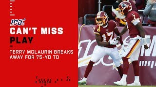 Scary Terry McLaurin Is a Nightmare for Eagles D