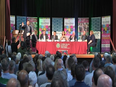 'Get Out Of The 1600's' DUP Told During Heated Féile An Phobail Leaders Debate