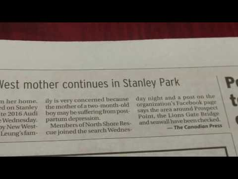 Stanley Park,, This is on research bucket list. I was reminded reading this today.