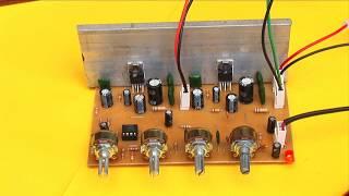 Amplificador estéreo de 20 watts con TDA2003