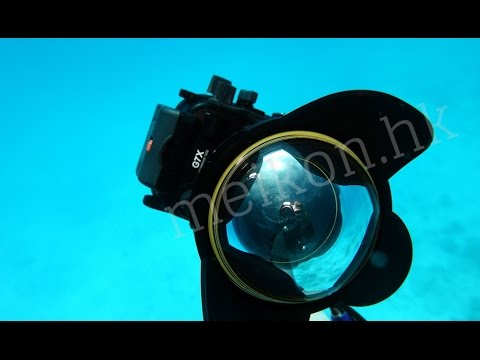 Watch this test of Meikon underwater camera housing for Canon G7X