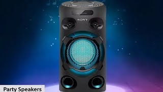 Unboxing Sony MHC-V02 Home Audio Portable Party Speaker