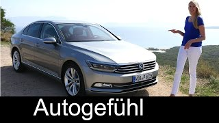 VW Volkswagen Passat B8 Sedan & Wagon/Estate/Variant FULL REVIEW test driven Magotan all-new neuer