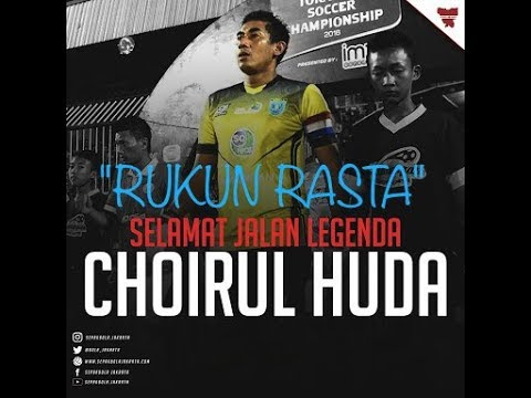 RUKUN RASTA - SELAMAT JALAN. (Lagu Tribute To Choirul Huda Persela)