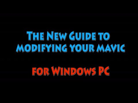 New Guide to modifying your DJI Mavic on PC (complete step-by-step latest version 1.04.0300)