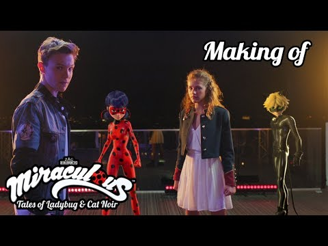 MIRACULOUS | 🐞 LOU & LENNI KIM - BEHIND THE SCENE 🐞 | Tales of Ladybug and Cat Noir