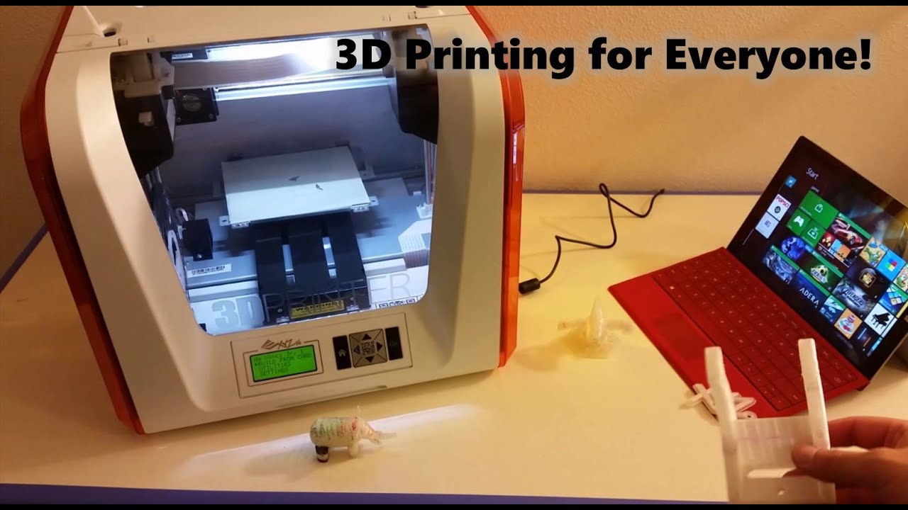 absolute beginner u0027s introduction to 3d printing at home da vinci