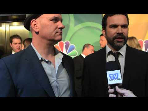 Mike O'Malley and Ricardo Chavira  Welcome to the Family  NBC Upfront 2013