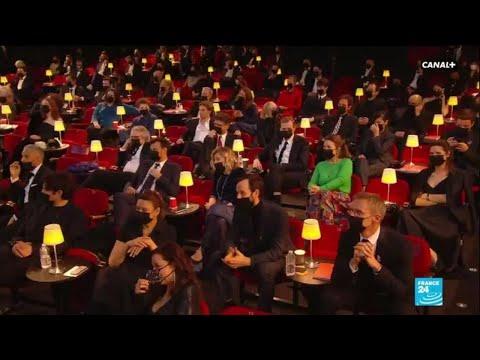 French film industry slams Covid-19 shutdown of cinemas at César Awards