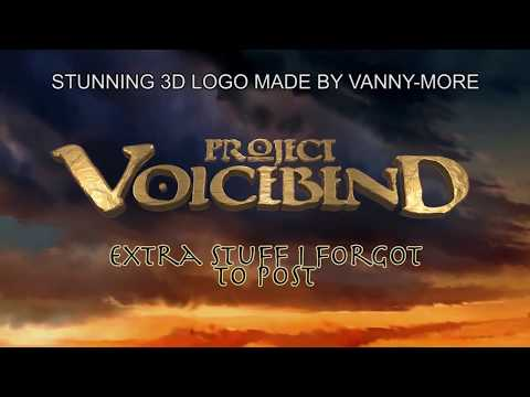 PROJET VOICEBEND EXTRA STUFF [with subtitles!]