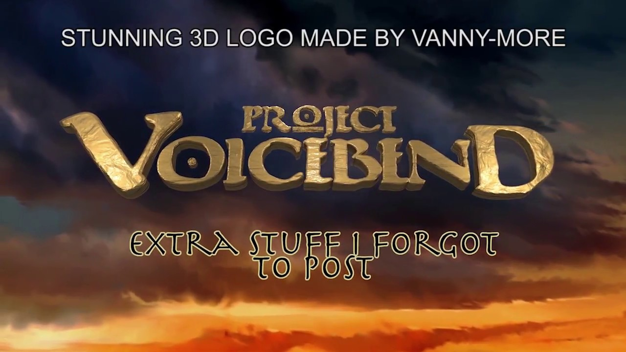 Download PROJET VOICEBEND EXTRA STUFF [with subtitles!]