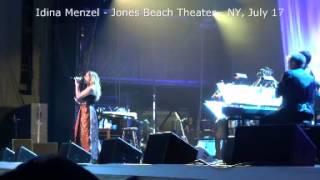 VIDEO 1 Idina Menzel #IdinaWorldTour Jones Beach Theater, July 17 2015