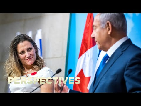 Canada's Foreign Minister Meets Israeli Prime Minister Netanyahu